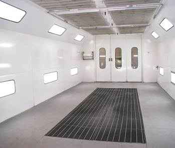 Downdraft Paint Booths Ffun Collision Sk Collision Centre